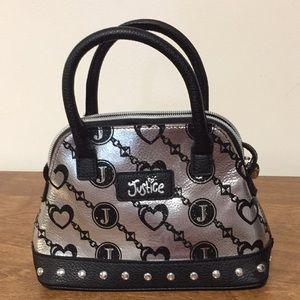 """Justice small handbag great condition 5 1/2"""" x 9"""""""